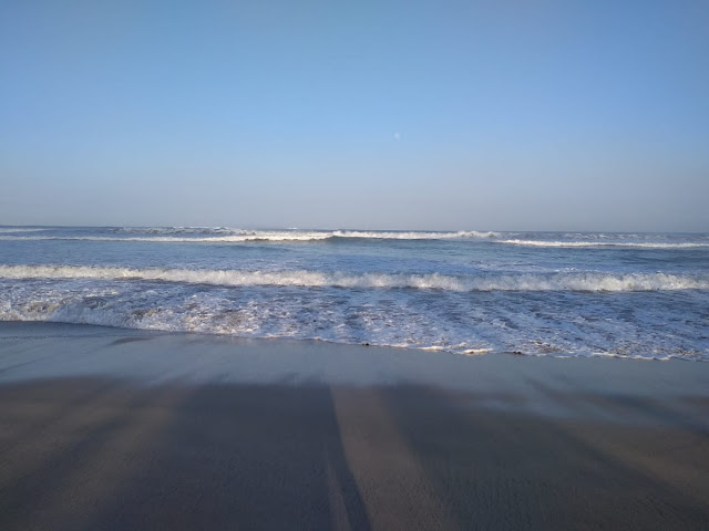 Friendly waves, safe to play in this place at Kuta Beach