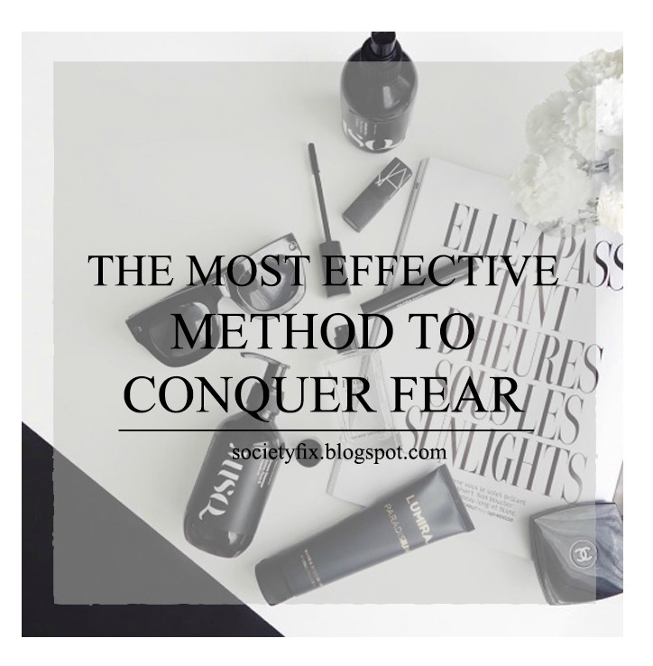 Today on the other hand I am going to talk about a very important topic, something I have been suffering from, since I was a baby, and something that I don't want to live with anymore, today I am talking about how to conquer fear. This blog was driven by this need to conquer the fear of society, to not let the society control my life by fearing it. I have come so far from where I started with this character in me, and I still have a lot to do in my life if I want to be alive not to live.   If you want to know how I come over my fear just keep on reading.