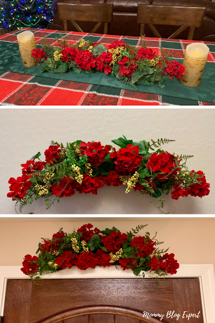 Nearly Natural Holiday Flowers Decor
