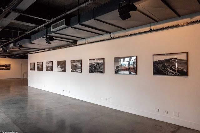 exposição de fotos da Serra do Mar, feitas por Lucas Pontes