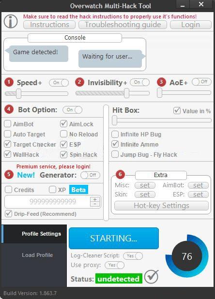 Overwatch Hacks Multi Hack Tool - Free Game Cheats