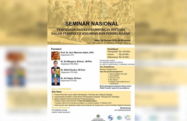 Dicurigai Angkat Tema PKI, Seminar Sejarah UM Ditunda; Sempat Muncul Isu Ditekan Militer