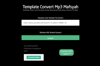 Template Blogger Convert Youtube To Mp3