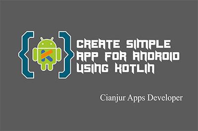 Membuat aplikasi android dengan kotlin, kotlin programming, tutorial pemrograman kotlin pada android. create simple app using kotlin. dari WILDAN TECHNO ART.