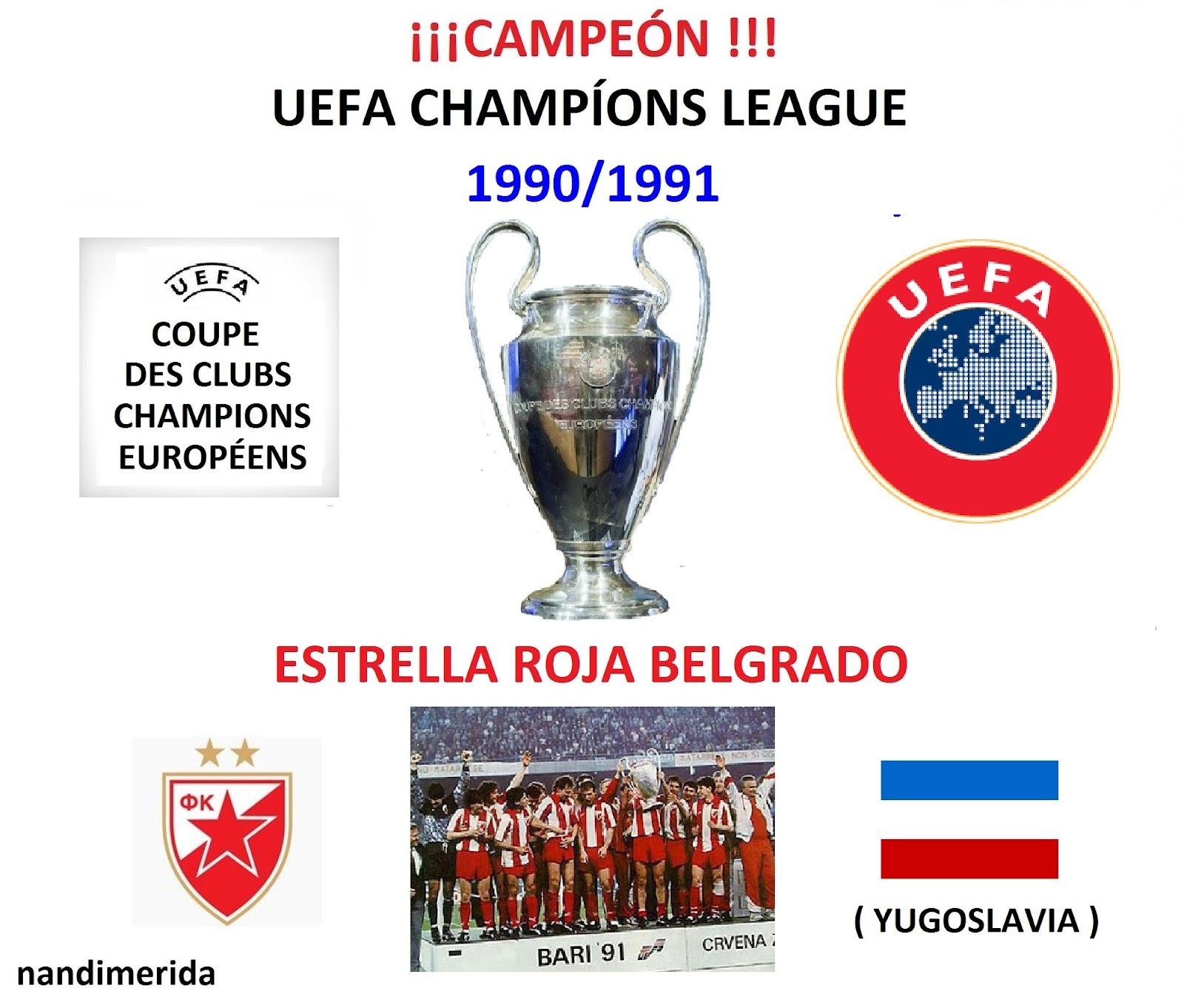 Todocampeones Todofutbol Todo Futbol Campeones Uefa Champions League 1955 2011 Winnaar