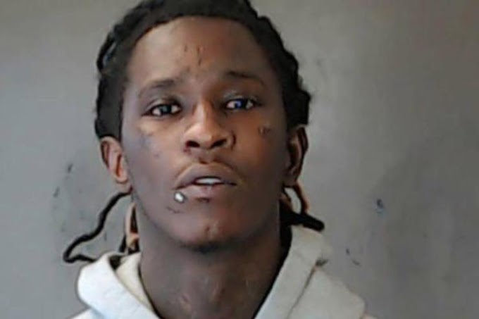 Young Thug's New Mugshot Has Been Released