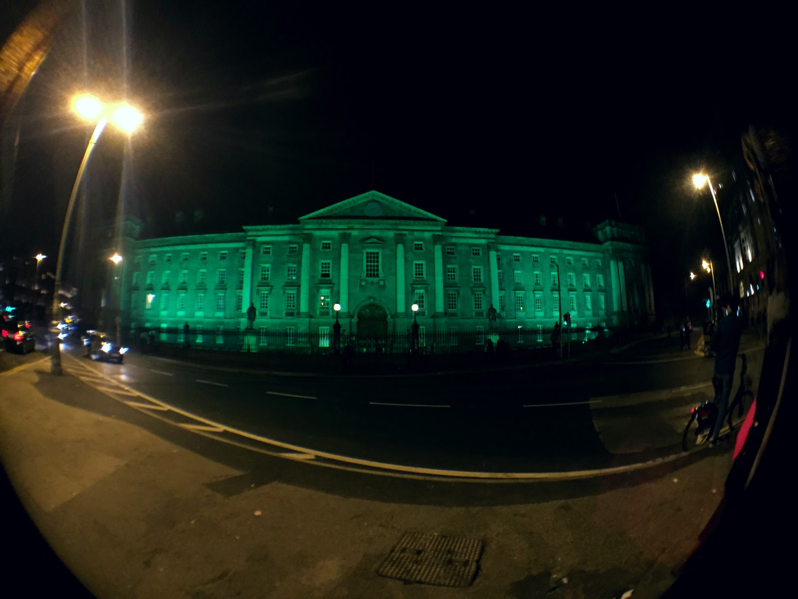trinity college st patrick's day dublin 2016