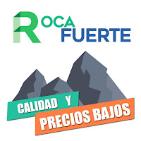 Logo Logotipo Empresa Roca Fuerte Diseño Gráfico Freelance