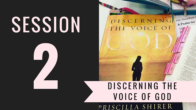 Session 2 - Discerning the Voice of God Bible Study