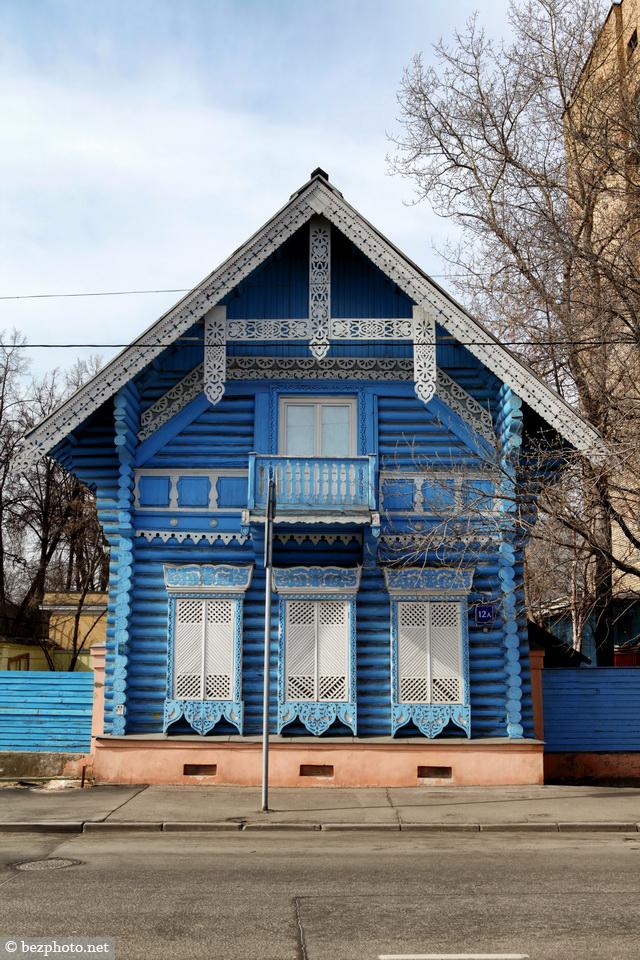 деревянное зодчество Москвы