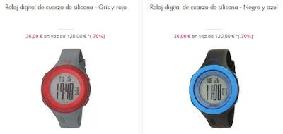 relojes digitales Puma