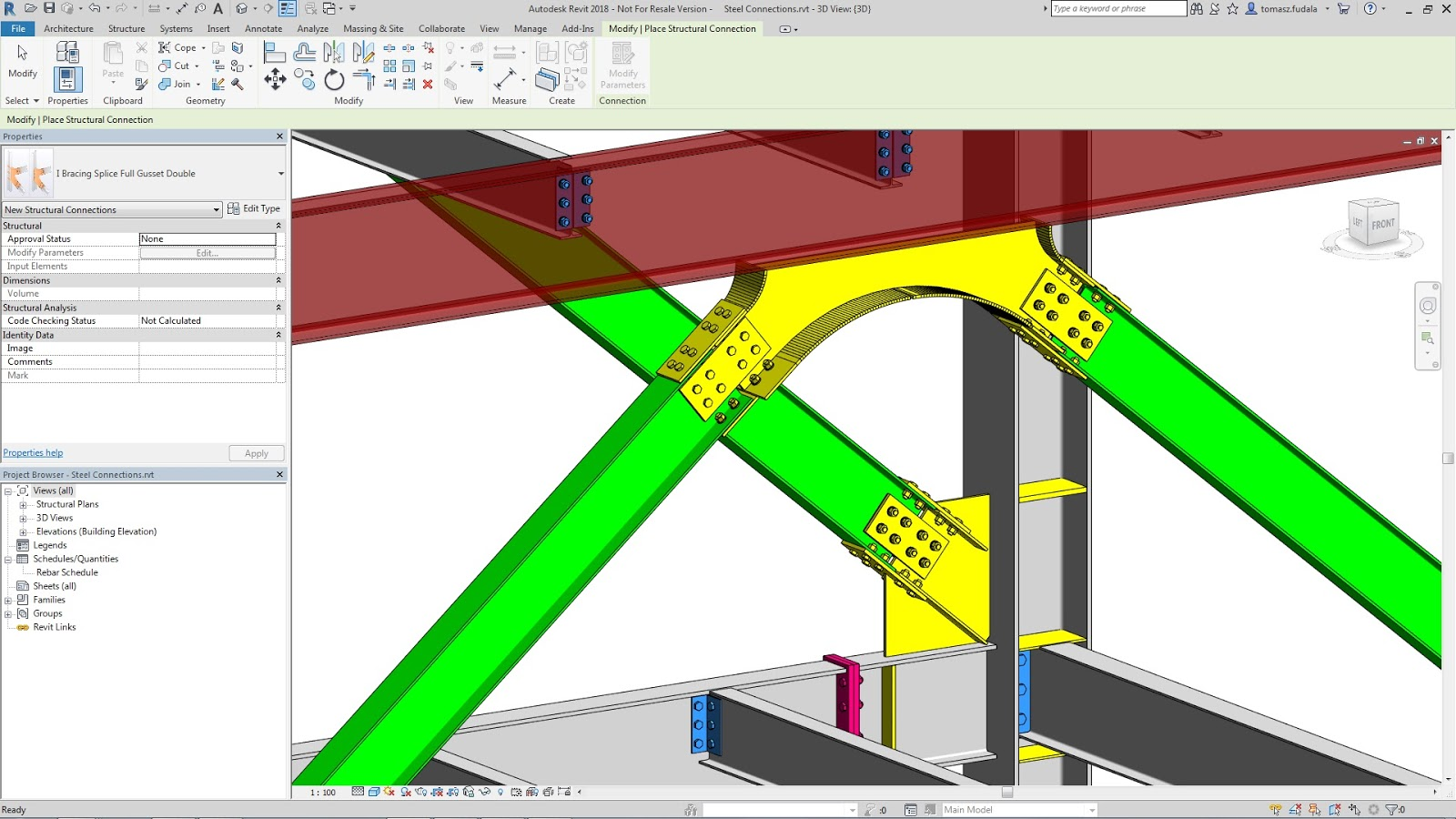Revit Add-Ons: Advance Steel 2018 and Steel Connections for