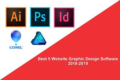 Best 5 Website Graphic Design Software 2018-2019