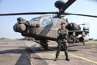 TNI AD Terima Tiga Apache