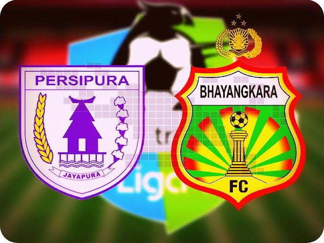 Bhayangkara FC Kalah 3-2 Hadapi Persipura Jayapura
