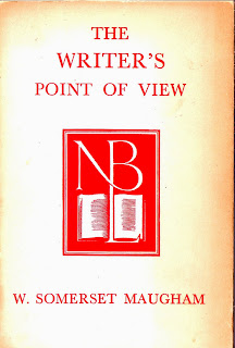 the cover of the writer's point of view, a lecture by w. somerset maugham in 1951