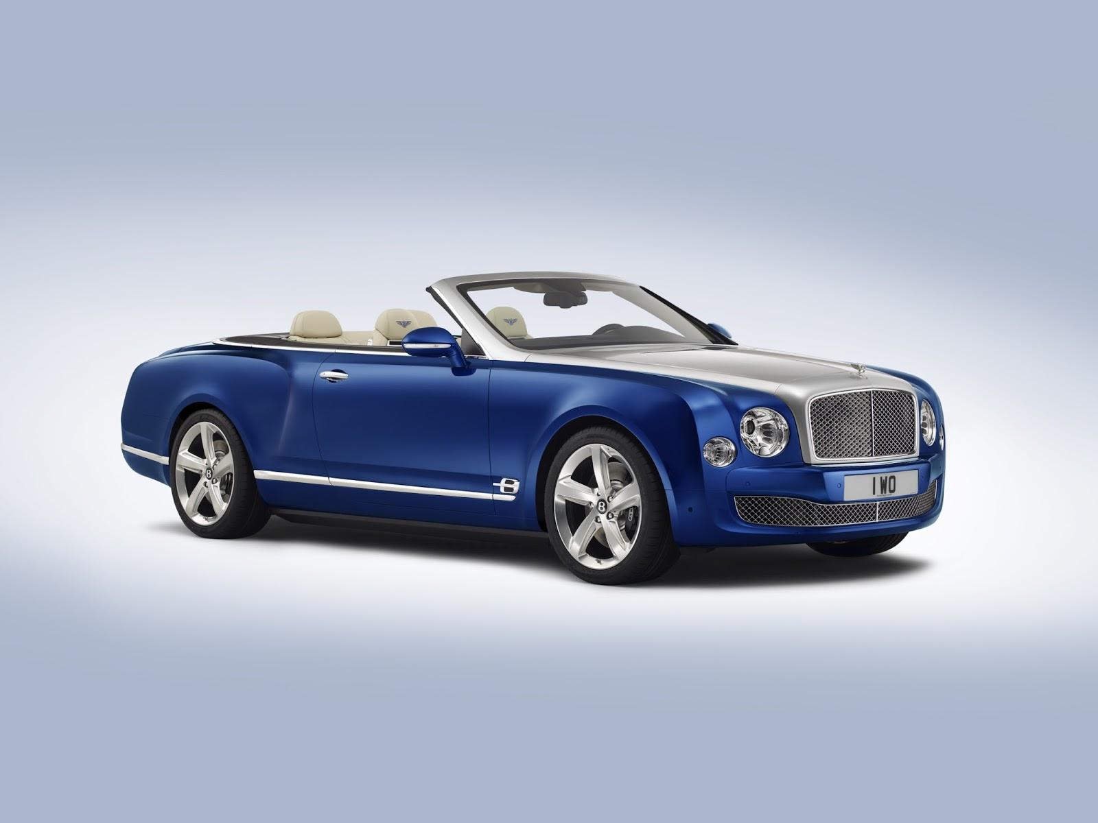 New Bentley Grand Convertible / Mulsanne Convertible