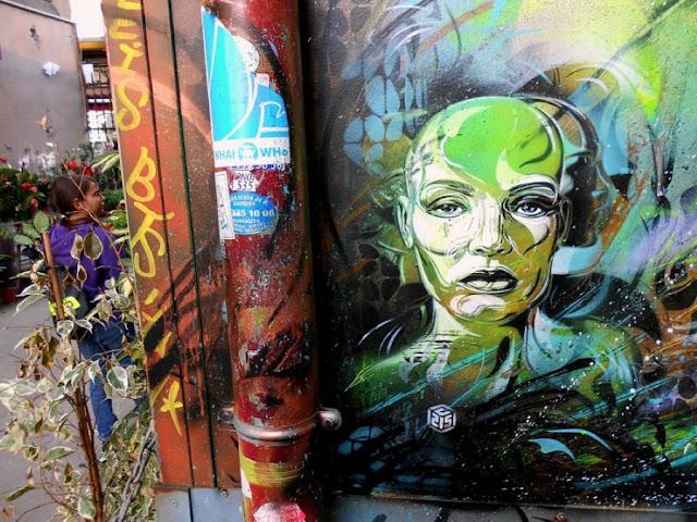 Уличное искусство Кристиана Гуеми (Christian Guémy aka C215) 9