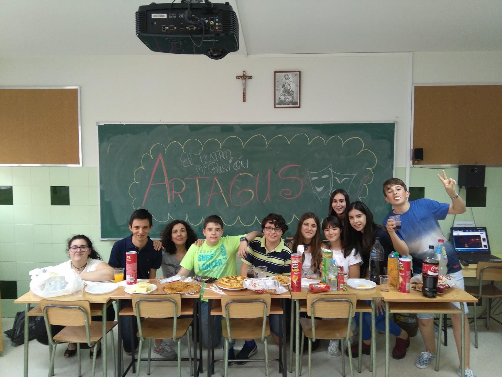 Agustinas Valladolid - 2017 - Artagus - Fiesta