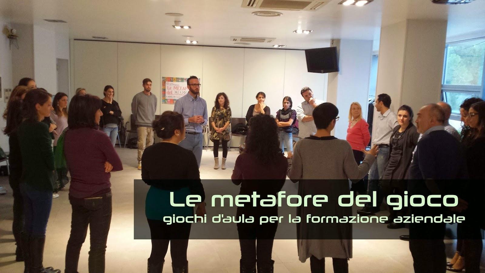Le metafore del gioco - giochi d'aula per la formazione aziendale con Renata Borgato