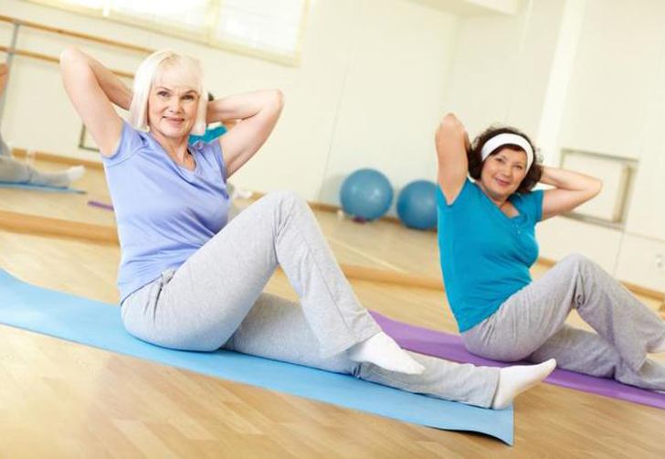Yoga For Women Over 50 Four Poses For Every Fitness Level