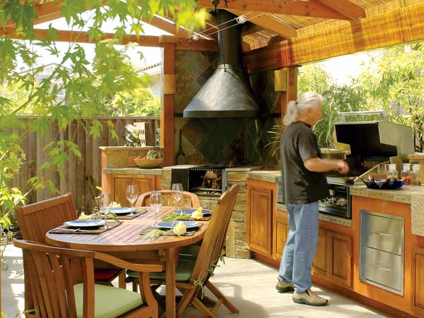 Kitchen Design: Outdoor Kitchen Design