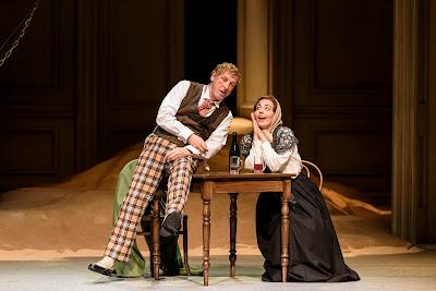 Strauss: Der Rosenkavalier - Brindley Sherratt, Lucia Cervoni - WNO 2017 (photo Bill Cooper)