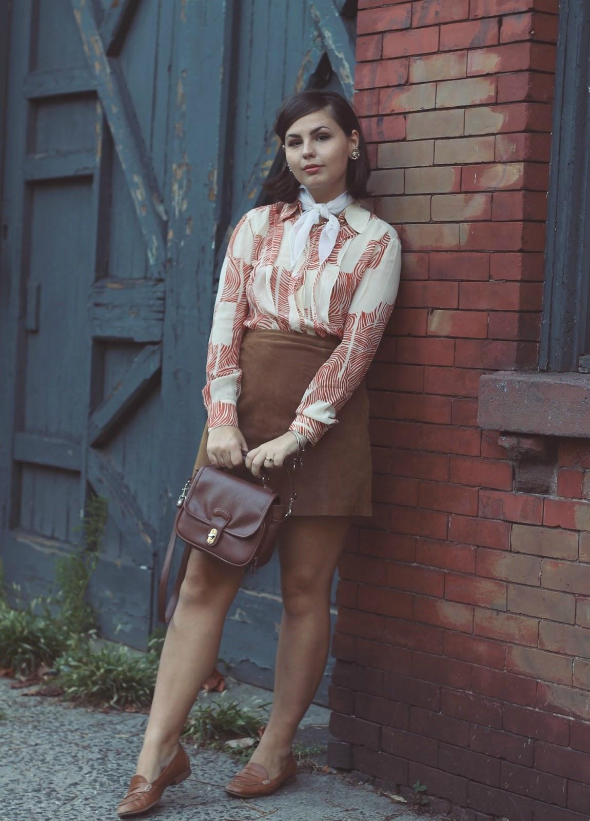 Vintage 70s Blouse   NYC Fashion Blog