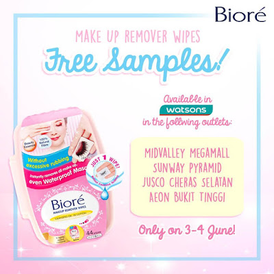 Biore Make Up Remover Wipes Free Samples Watson Giveaway