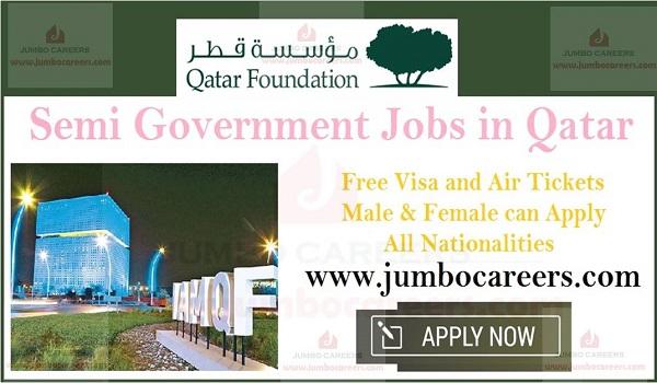 Qatar Foundation Latest Staff Recruitment | Government Jobs in Qatar