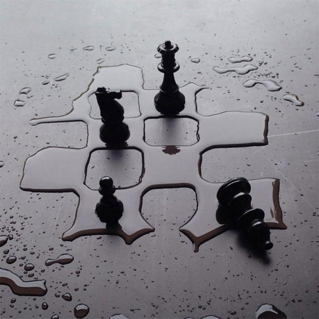 Artista crea increíbles obras de arte mediante la manipulación de agua