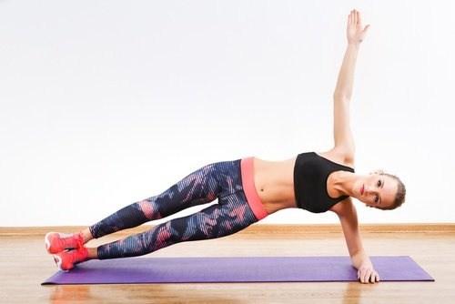 Side plank lifts