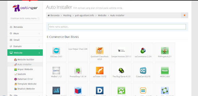 Cara Install Wordpress Self Hosting di IDhostinger