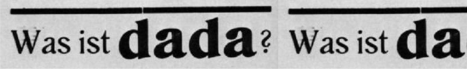 Was Ist Dada