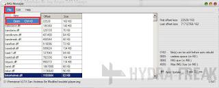 Cara membuka file .img dengan IMG Manager 1.5