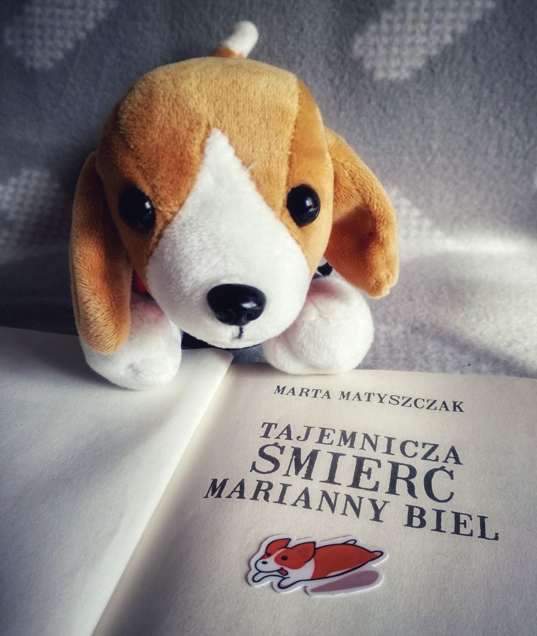 """Marta Matyszczak """"Tajemnicza śmierć Marianny Biel"""""""