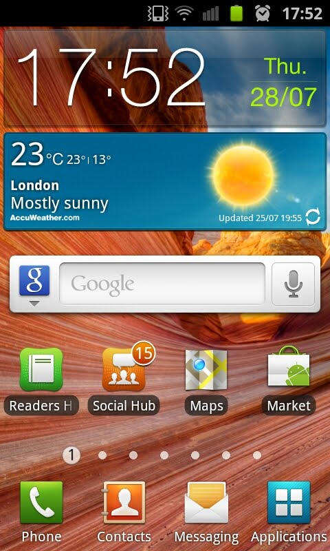 A clone of Samsung`s TouchWiz Launcher, now available in the latest