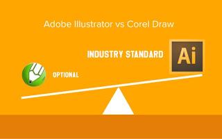 Só sánh tính năng của Corel Draw và Illustrator