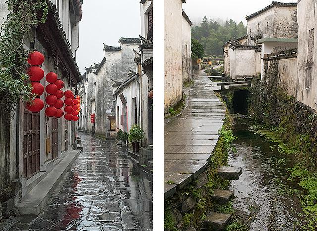 Deux ruelles à Xidi