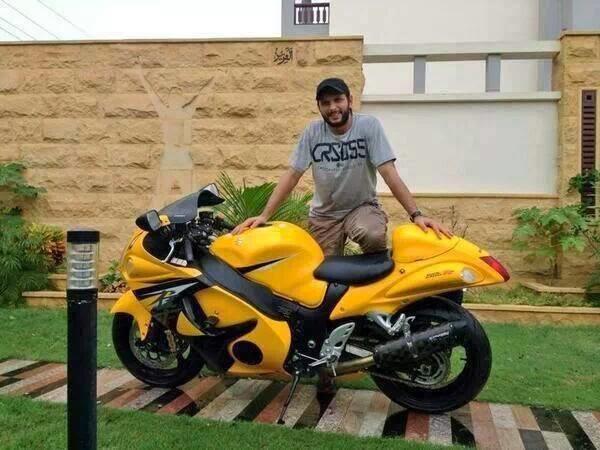 Cricket Streaming: Latest Shahid Afridi Suzuki Bike Video