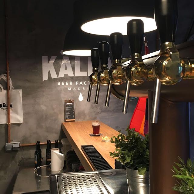 Kalla cerveceria chueca madrid estamostendenciados beer craft cerveza artesana madrid fabrica cerveza gastro källa