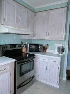 A Merry Heart Diy White Washed Cabinets