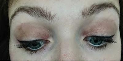 Natural summer look eye makeup
