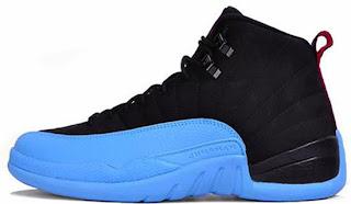fa608e6efd5 Jordan 12 Black And Baby Blue ukpinefurniture.co.uk