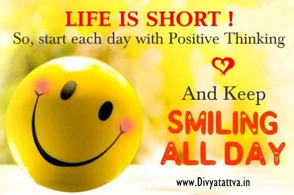 Divyatattva Positive Quotes Inspiration Motivation Giving Smile