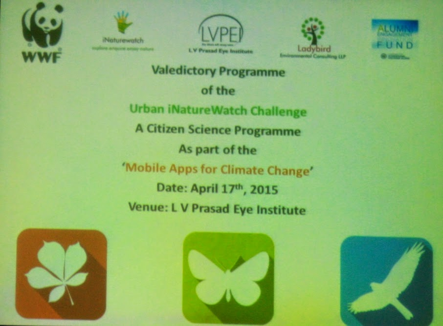 Mobile Apps 4 Climate Change: Urban iNaturewatch Challenge