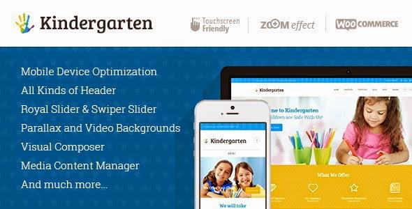 children website theme