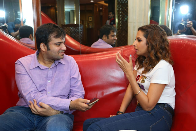 Interviewing actress Sargun Mehta