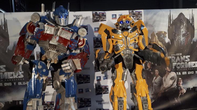 Presentación Transformers: El Último Caballero en Madrid