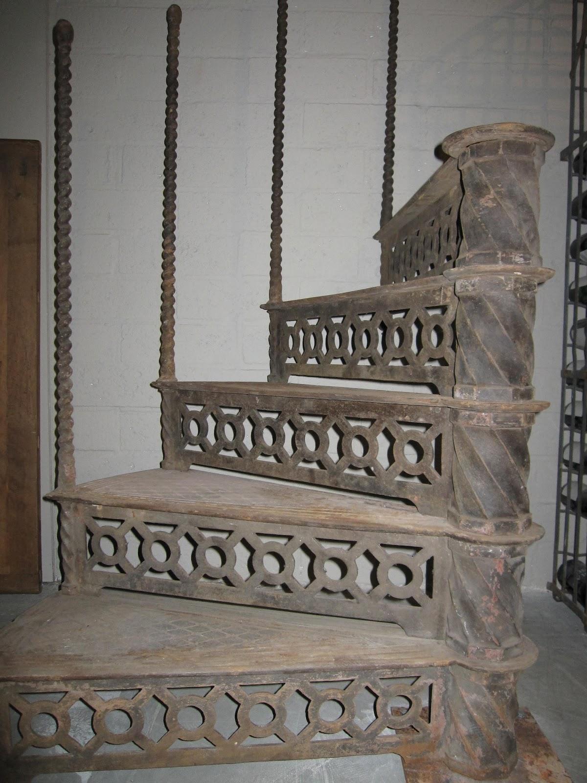 Historische baustoffe historische baumaterialen aus metall for Trap eisen